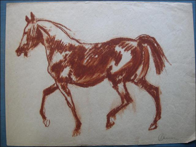Лошадь(набросок)