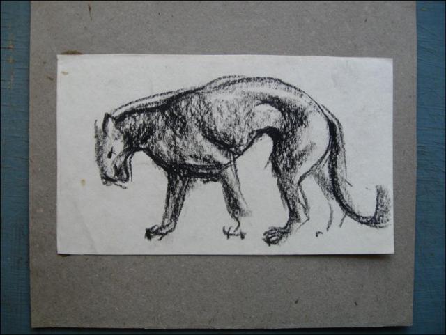 Пантера (набросок)