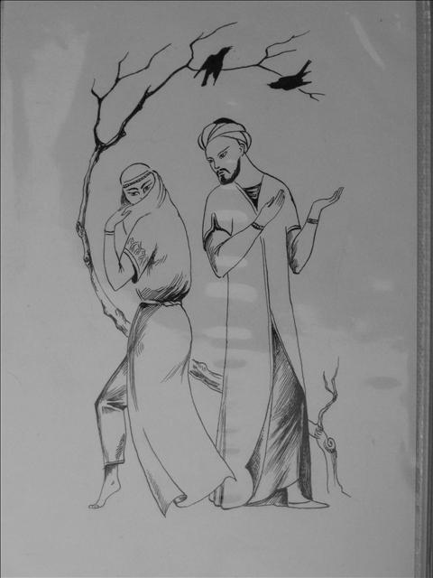 Иллюстрации к стихам поэта Абу Абдаллаха Джафар Рудаки (ок. 860-941г.)