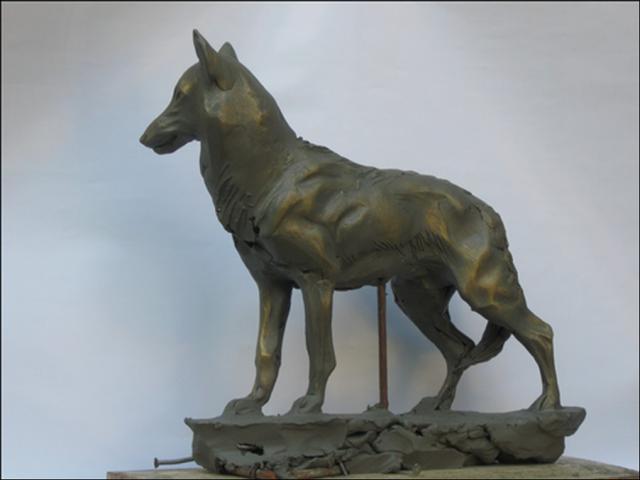 Волк (эскиз)