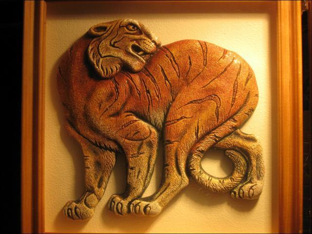 Тигр-сувенир